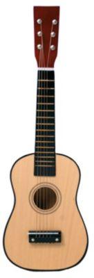 Gitarre - natur 60 cm, inkl. Gitarrengurt