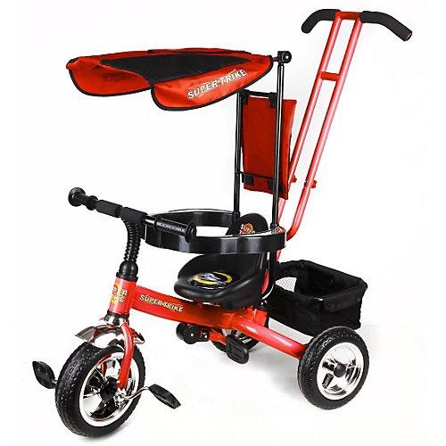 Super Trike Детский трехколесный велосипед, красный от Lexus Trike