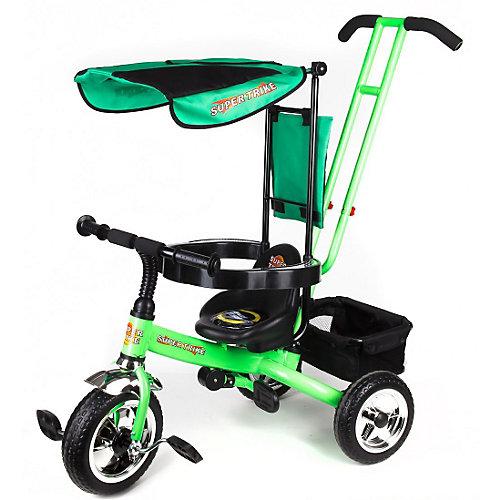 Super Trike Детский трехколесный велосипед, зеленый
