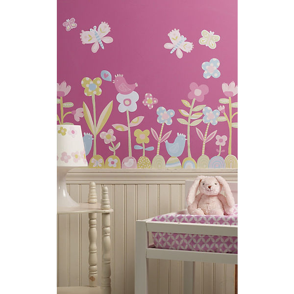 Wandsticker Blumenwiese 34 tlg WALLIES