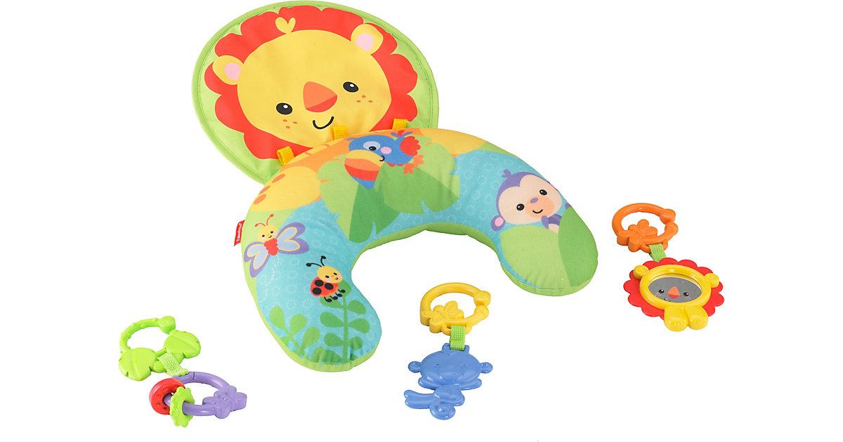 Fisher-Price Löwen-Spielkissen Bauchlage, Baby-Spielzeug Neugeborene  Baby
