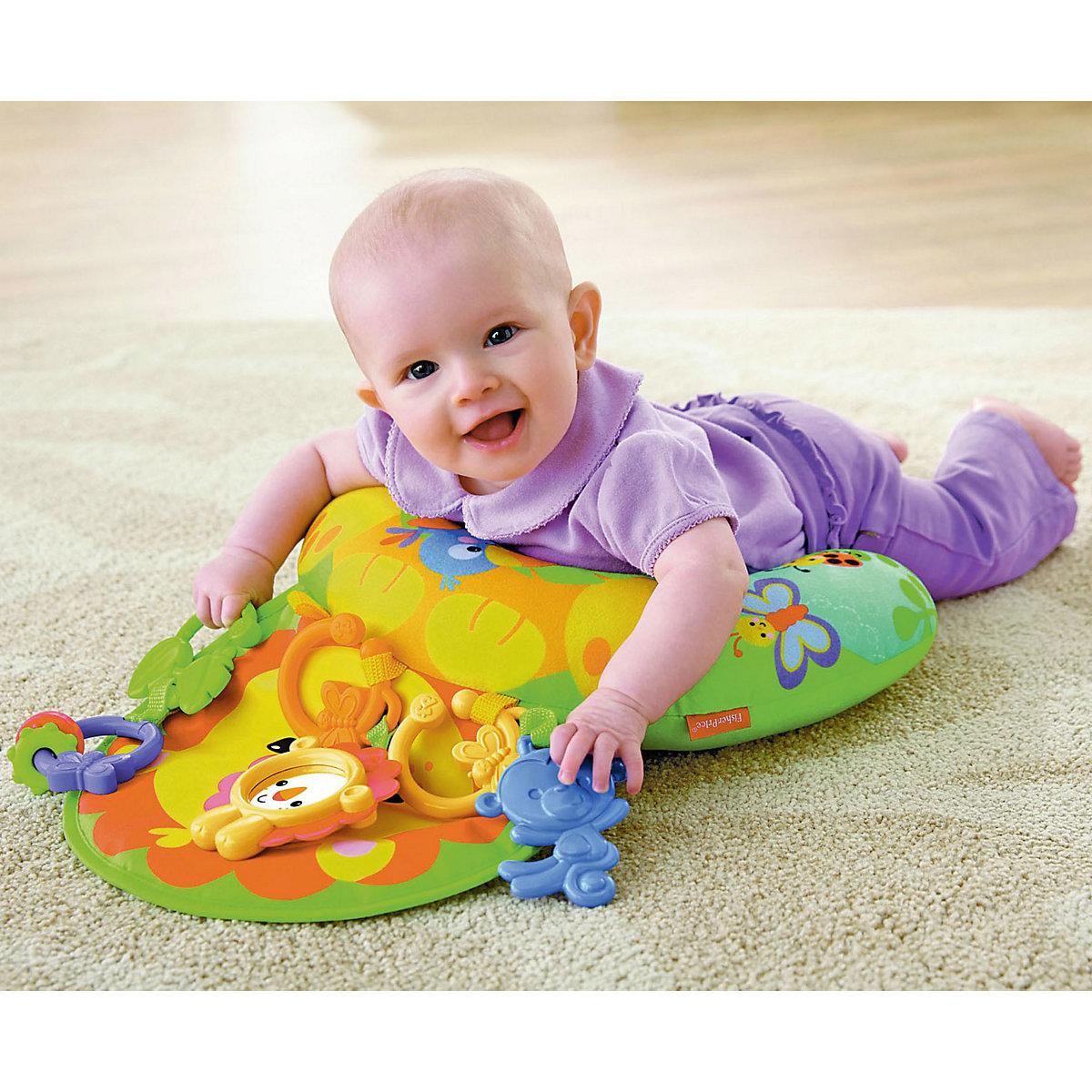 Spielzeug Für Neugeborene : fisher price l wen spielkissen bauchlage baby spielzeug f r neugeborene fisher price mytoys ~ Watch28wear.com Haus und Dekorationen