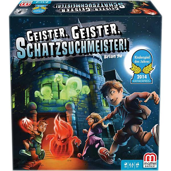 Mattel Games KINDERSPIEL DES JAHRES 2014 Geister, Geister, Schatzsuchmeister, Mattel Games