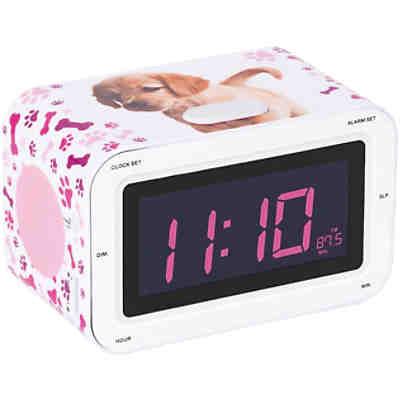 kids wecker mit projektion pink bigben mytoys. Black Bedroom Furniture Sets. Home Design Ideas