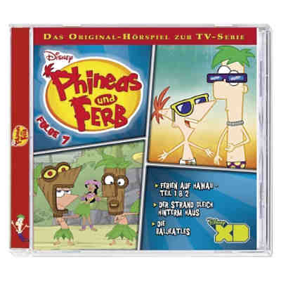 CD Disney Phineas & Ferb 7