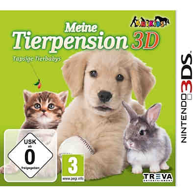 3DS Meine Tierpension: Tapsige Tierbabys