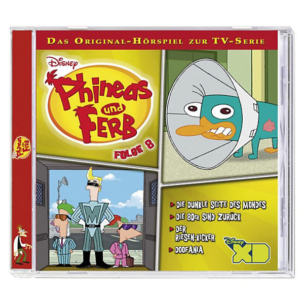 CD Disney Phineas & Ferb 8