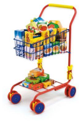 Einkaufswagen, 40-tlg. befüllt