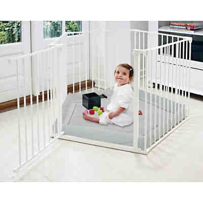laufgitter und konfigurationsgitter park a kid wei mit. Black Bedroom Furniture Sets. Home Design Ideas