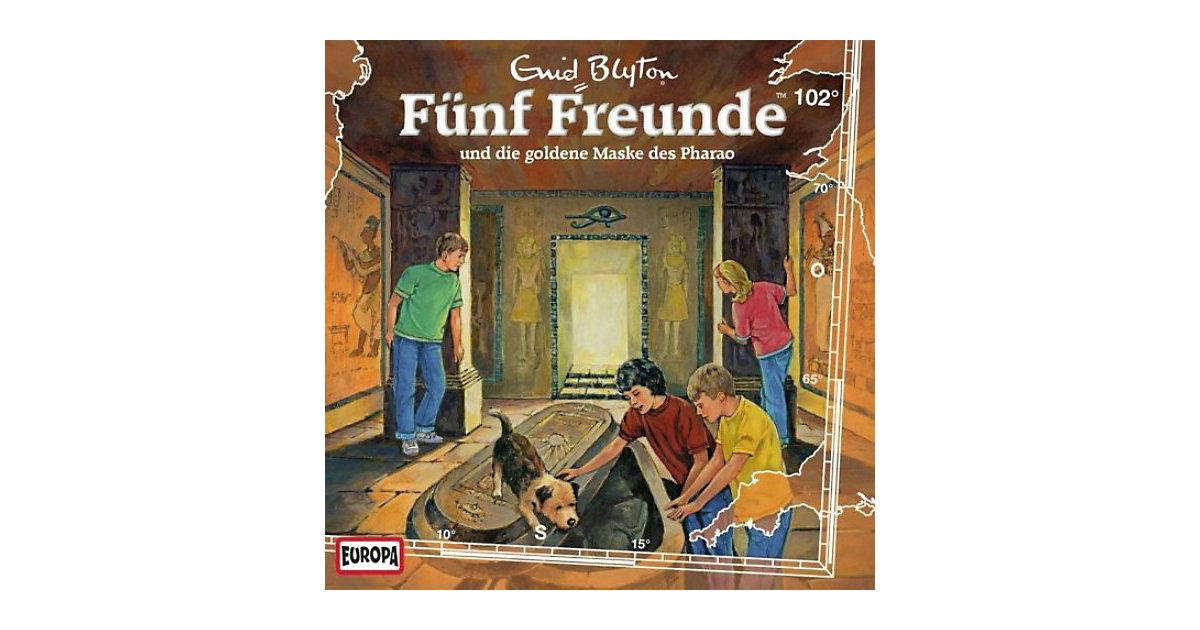 CD Fünf Freunde 102 - und die goldene Maske des Pharao