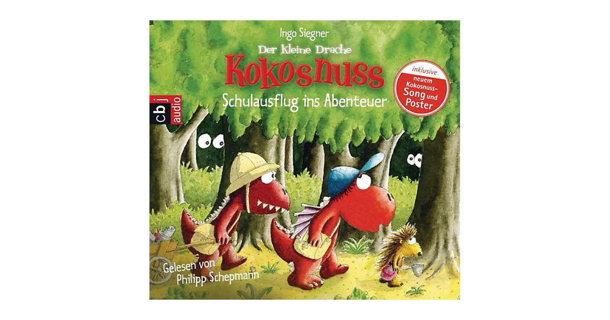 Der kleine Drache Kokosnuss: Schulausflug ins Abenteuer, 1 Audio-CD Hörbuch