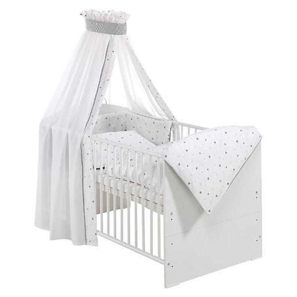 Kinderbett weiß 70x140  Kinderbett CLASSIC LINE WEIß komplett, weiß, 70 x 140 cm ...