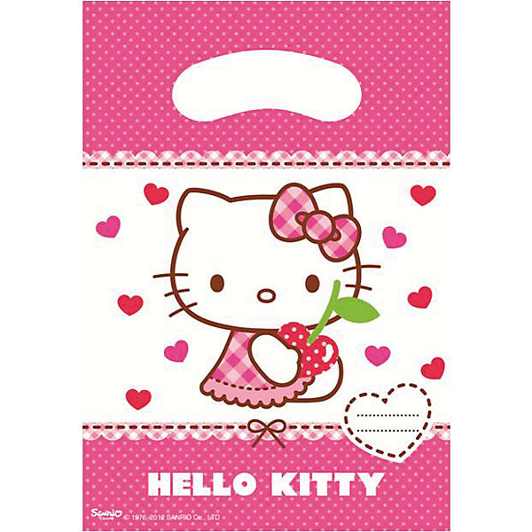 Partyset Hello Kitty Hearts 56 tlg Hello Kitty