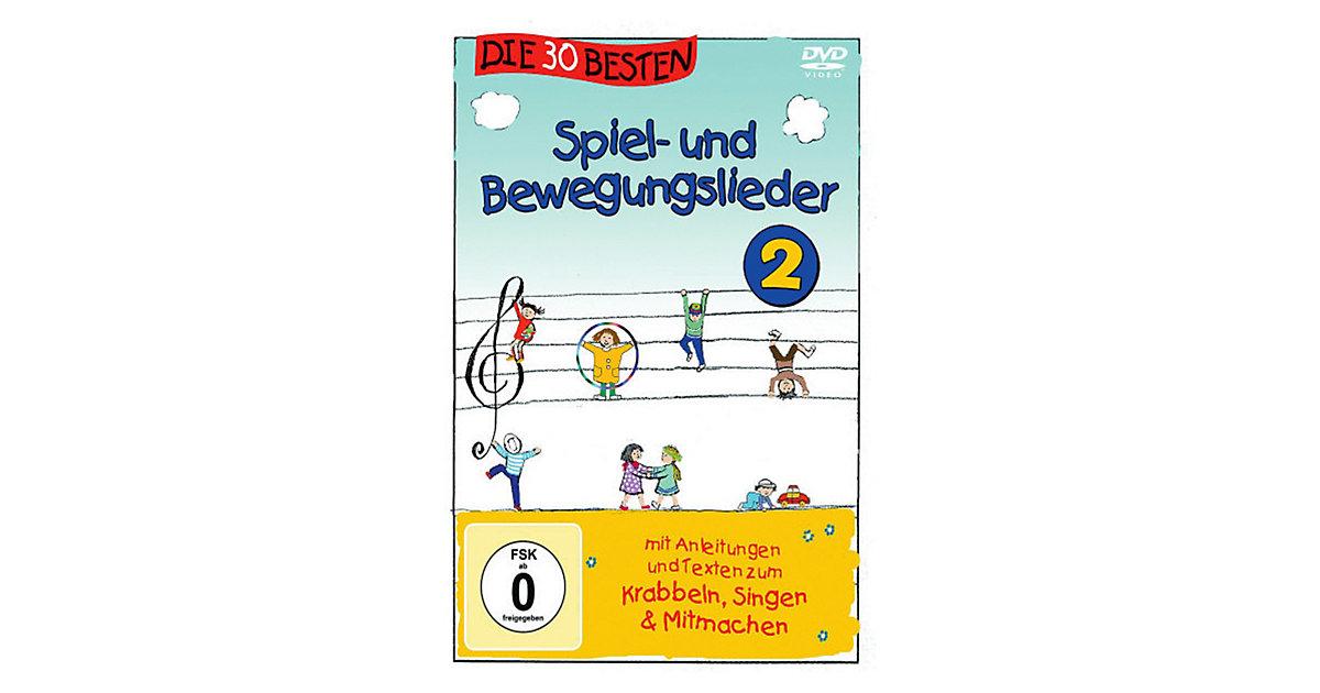 DVD Die 30 Besten Spiel- und Bewegungslieder 2