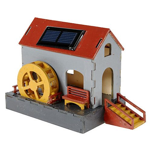 Nemmer Holz-Bausatz Solar-Wassermühle Sale Angebote Hohenbocka