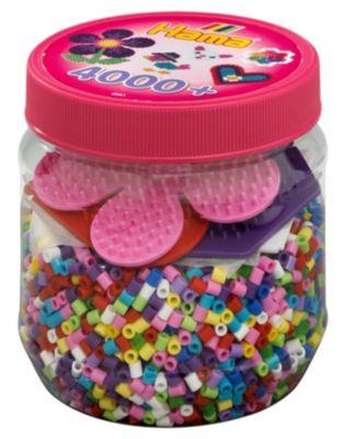4000 Perlen Und Zubehör Bügelperlen Dose Mit Ca Hama 2052