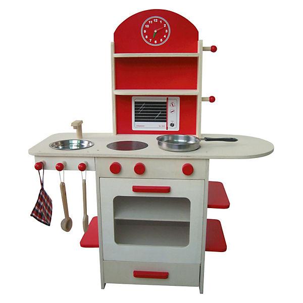 spielküche, natur/rot, roba | mytoys - Roba Küche