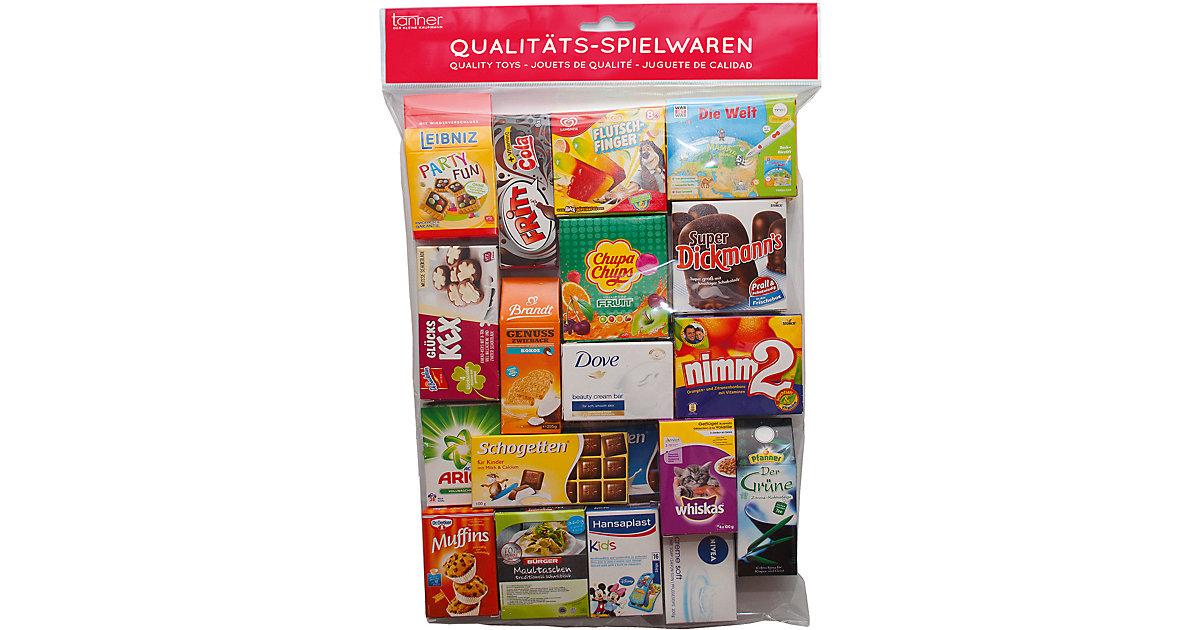 Großer Kaufladenbeutel mit Spiellebensmittel