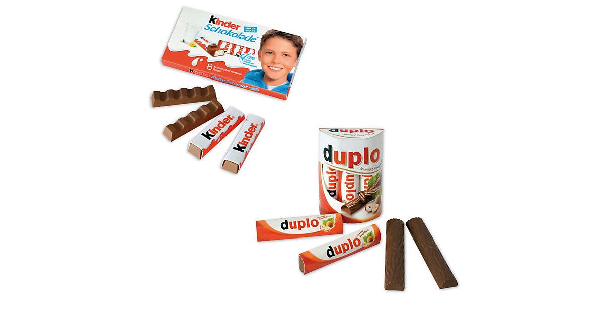 Spiellebensmittel Duplo und Kinder Set