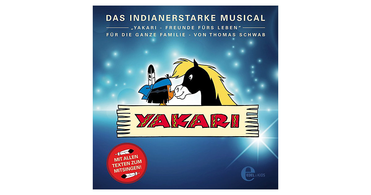 CD Yakari - Das Indianerstarke Musical