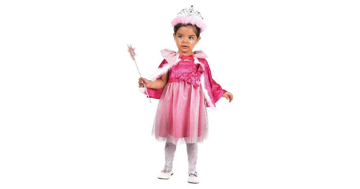 Kostüm kleine Prinzessin pink Gr. 104/110