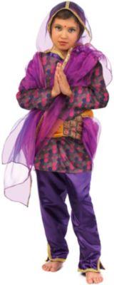 Kostüm Hindu Mädchen Ria Gr. 116/128 Mädchen Kinder