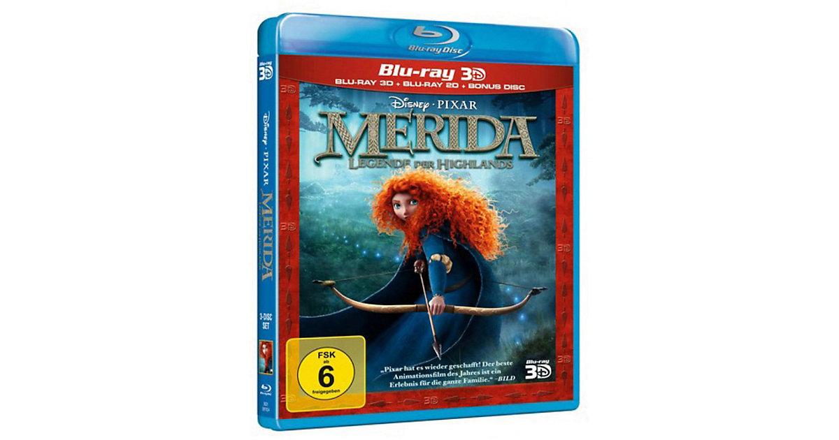 BLU-RAY Disney's - Merida - Legende der Highlands (3D Vers.) Hörbuch