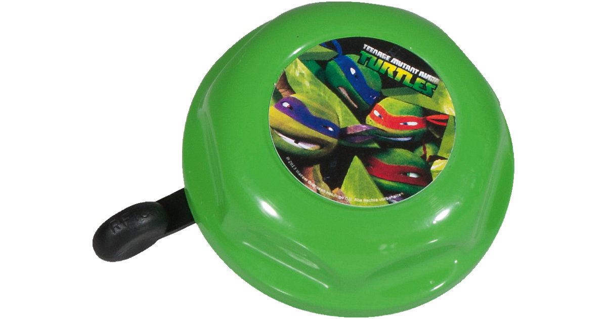 Teenage Mutant Ninja Turtles Fahrradklingel grün