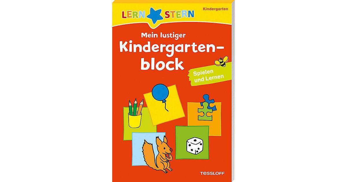 Lernstern Mein lustiger Kindergartenblock: Spielen und Lernen