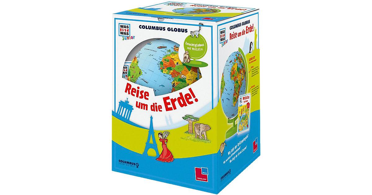 Tessloff Verlag · WAS IST WAS Junior Columbus Globus ´´Reise um die Erde!´´