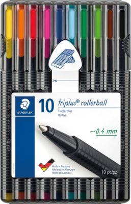 Набор роллеров Staedtler «Triplus roller», 10 цветов