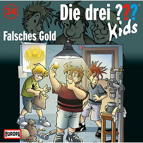 Die drei ??? Kids - 34: Falsches Gold (CD) jetztbilligerkaufen