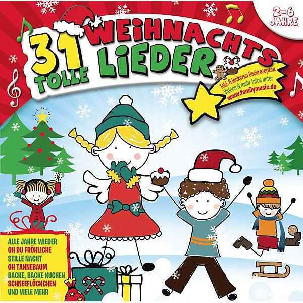 Die Schlümpfe Weihnachtslieder.Cd 31 Tolle Weihnachtslieder Sony