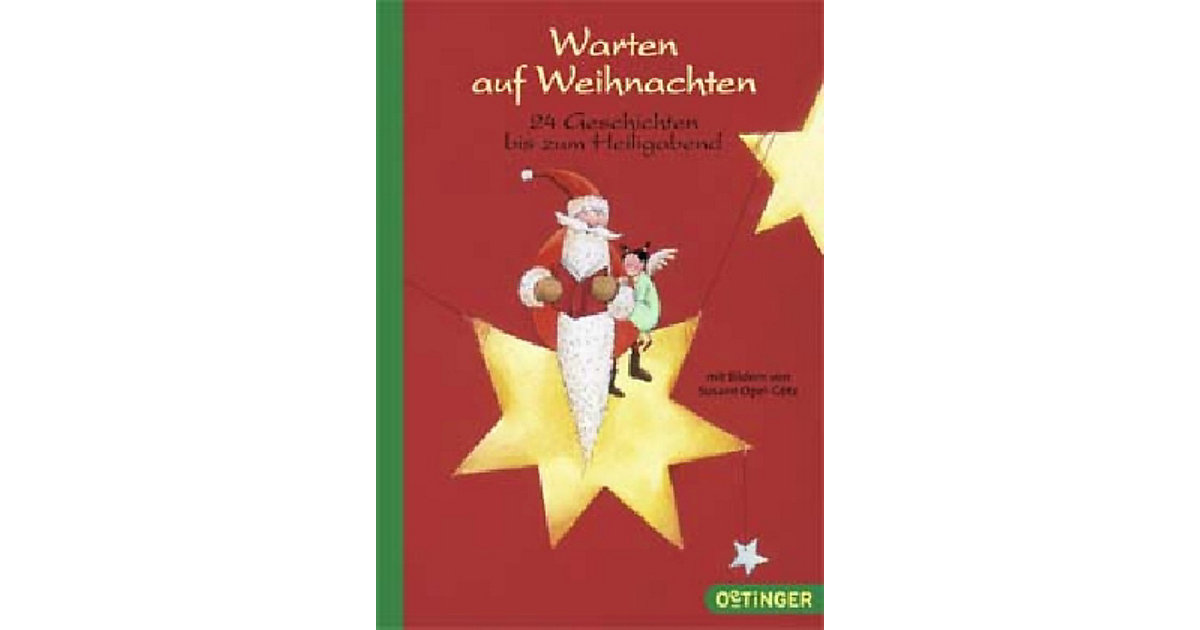Buch - Warten auf Weihnachten