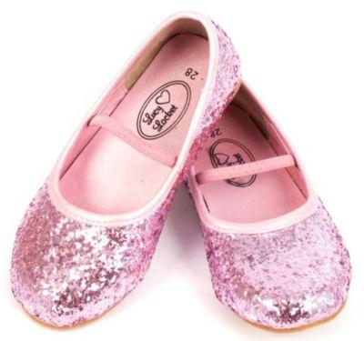 Glitzer Ballerina Schuhe Gr. 30 Mädchen Kinder