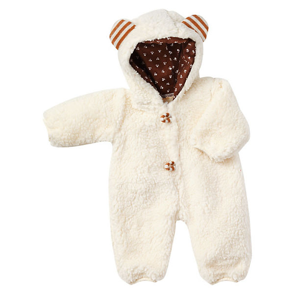 Puppenkleidung Winter Teddy Gr. 38, Emil Schwenk