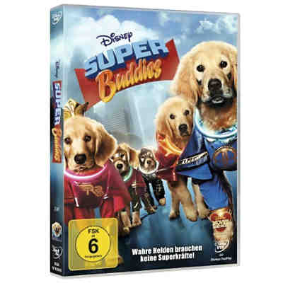 DVD Disney's - Super Buddies