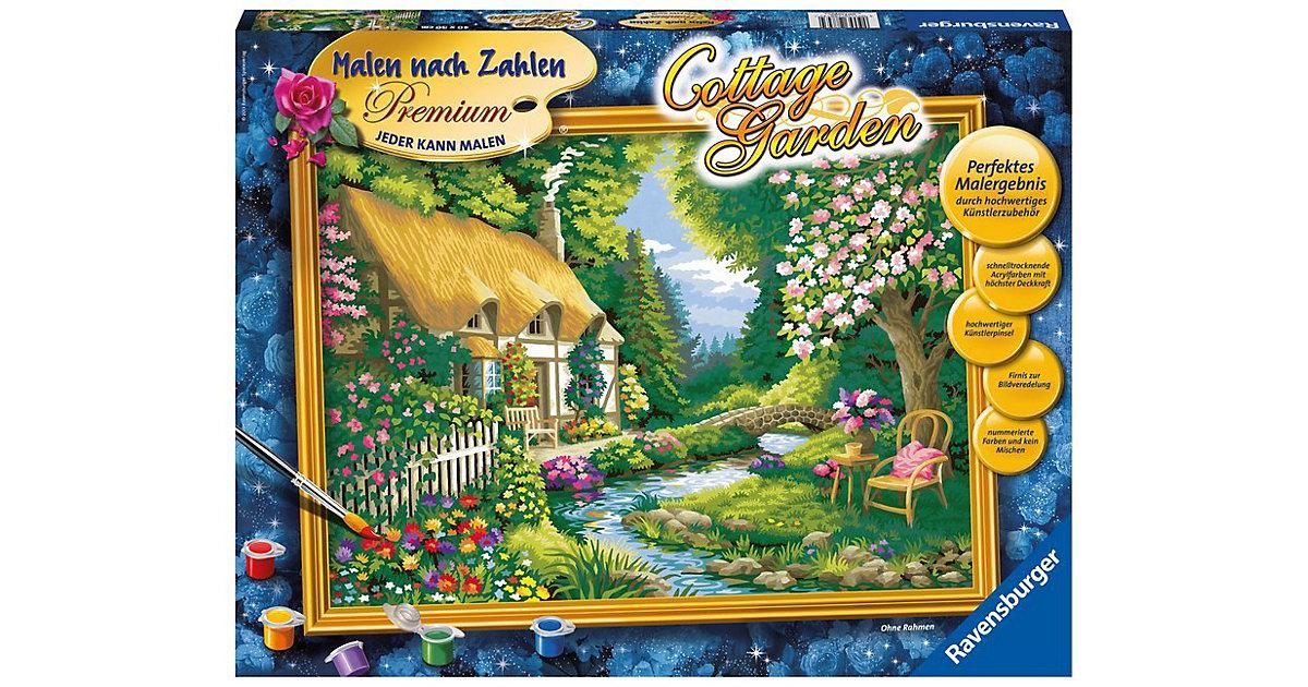 Malen nach Zahlen Premium - Cottage Garden, 30x...