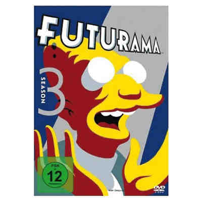 DVD Futurama - Season 3