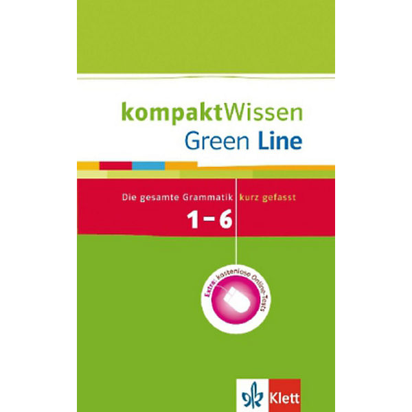 green line die gesamte grammatik kurz gefasst 1 6 lernjahr mit online tests klett verlag. Black Bedroom Furniture Sets. Home Design Ideas