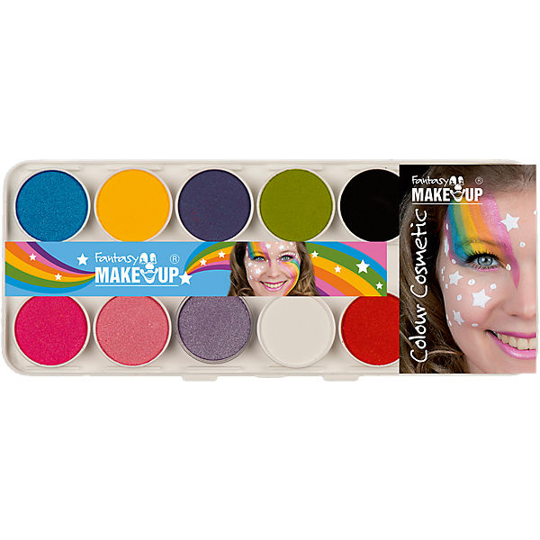 Fantasy Aqua Make Up Schminkkasten Rainbow, 14-tlg.