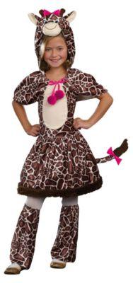 Kostüm GiGi Giraffe Gr. 140/152 Mädchen Kinder