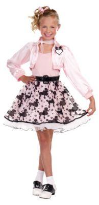 Kostüm Pretty Pink Gr. 140/152 Mädchen Kinder