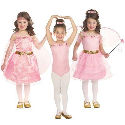 Kostüm 3in1 Fantasy Gr. 128/140 Mädchen Kinder