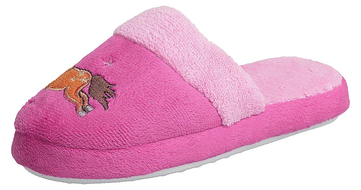 HORKA Kinder Hausschuhe, pink Gr. 32 Mädchen Ki...