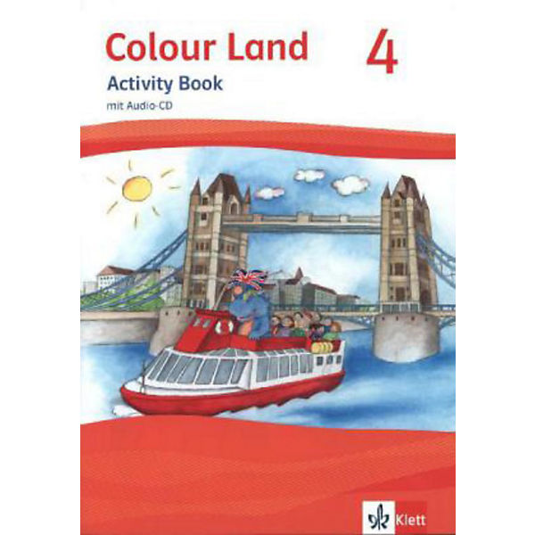 Colour Land, Ausgabe 2013: 4. Schuljahr, Activity Book m. Audio-CD