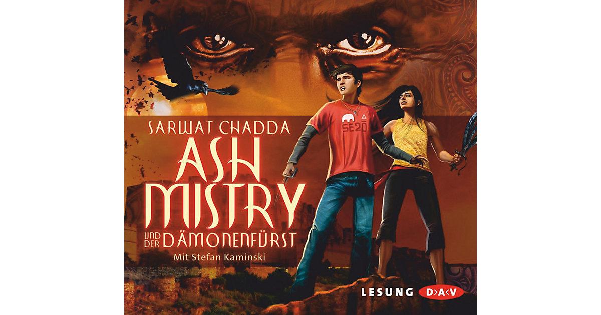 Ash Mistry und der Dämonenfürst, 4 Audio-CDs Ki...