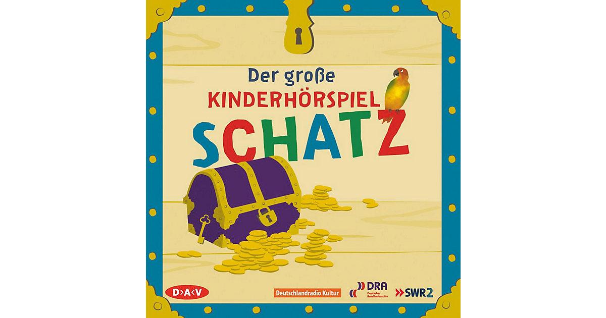 Der große Kinderhörspielschatz, 4 Audio-CDs