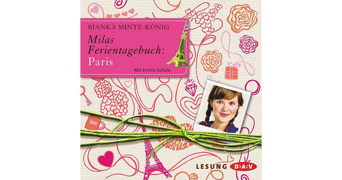 Milas Ferientagebuch: Paris, 2 Audio-CDs
