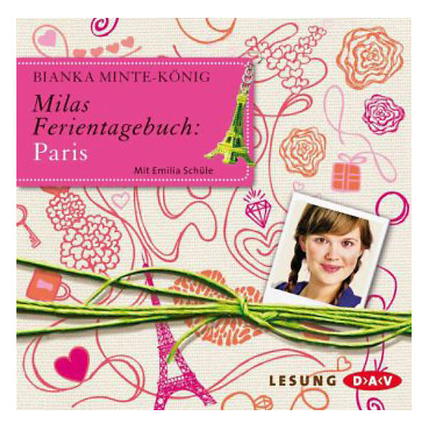 Milas Ferientagebuch: Paris, 2 Audio-CDs